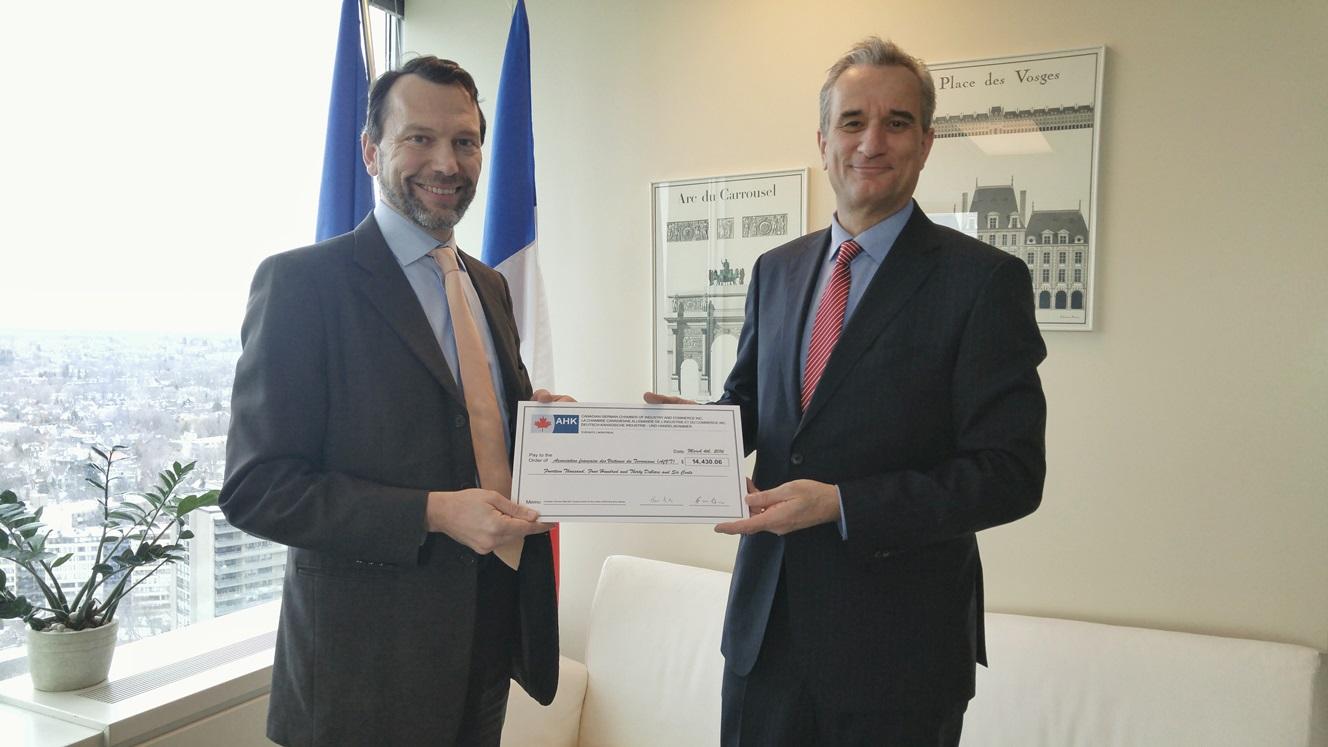Les entreprises allemandes au canada au soutien des for Chambre de commerce tuniso allemande