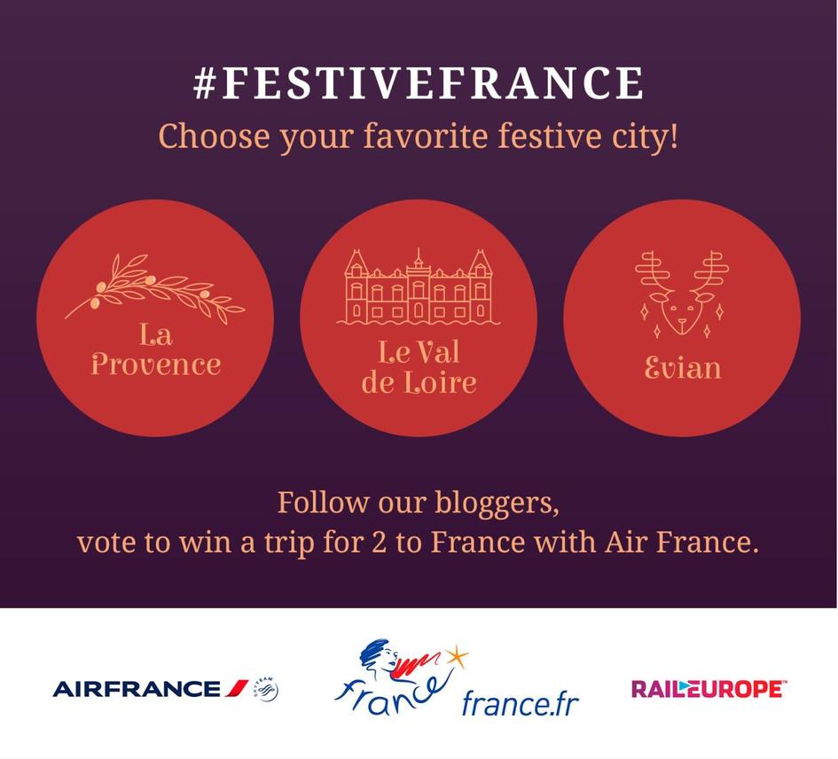 Second #FestiveFrance bloggers challenge - Consulat général